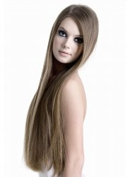 #10 Hellbraun, 60 cm, Double drawn Tape Extensions