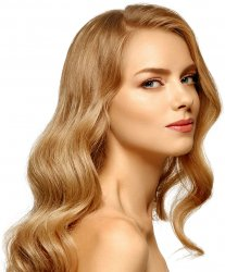 #12 Dunkelblond, 50 cm, Double drawn Tape Extensions